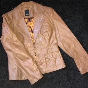 Vero moda Vintage pig leather jacket
